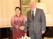 La présidente Nguyen Thi Kim Ngan rencontre le gouverneur général d'Australie
