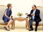 Nguyen Xuan Phuc appelle les entreprises canadiennes à venir investir au Vietnam