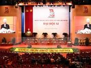 Ouverture du 11e Congrès national de l'Union de la jeunesse communiste Hô Chi Minh