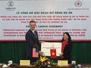 USAID aide la Croix-Rouge à améliorer sa capacité de la gestion des catasrophes naturelles