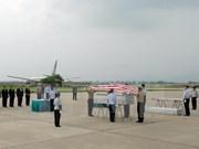 Hanoï : remise des restes de soldats américains portés disparus au Vietnam