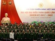 Clôture du 6e Congrès national de l'Association des anciens combattants du Vietnam