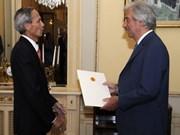 Renforcement des relations entre le Vietnam et l'Uruguay
