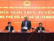 Le chef du gouvernement demande de se préparer à l'arrivée du typhon Tembin