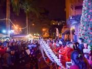 Le marché de Noël allemand à Hanoï