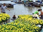 Têt 2018 : fêtes des fleurs à Hô Chi Minh-Ville