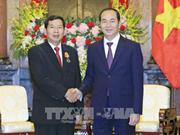 Le président vietnamien reçoit le président de la Cour populaire suprême du Laos