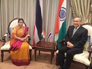 La Thaïlande et l'Inde dynamisent leurs relations bilatérales
