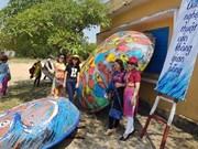 La route aux kouffas décorés à Quang Nam