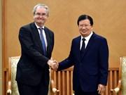 La Banque européenne d'investissement est prête à soutenir le Vietnam dans plusieurs domaines