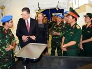 L'hôpital de campagne de niveau 2 du Vietnam partira au Soudan du Sud au début 2018