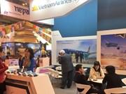 Vietnam Airlines promeut l'image du pays au salon du tourisme FITUR à Madrid