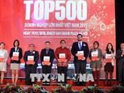 Publication de la liste des 500 entreprises les plus performantes en 2017