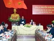 Le Premier ministre Nguyen Xuan Phuc en tournée à Yen Bai