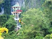 Quang Binh tente de construire la plus longue tyrolienne du monde