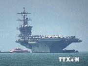 Dà Nang accueille le porte-avions USS Carl Vinson