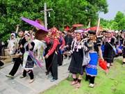 L'art de création des motifs chez les H'Mông, patrimoine culturel national
