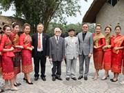 Rencontre d'amitié Vietnam-Laos en l'honneur du Nouvel an traditionnel laotien