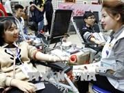 Quelques 10.200 poches de sang collectées lors de la fête du printemps rouge 2018