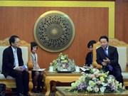 Le représentant en chef de la JICA au Vietnam à l'honneur