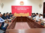 Les investisseurs sud-coréens s'intéressent à la ZE de Chân Mây-Lang Co