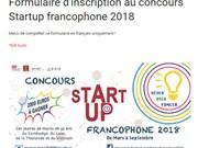 Lancement du concours « Start-up 2018 » pour les jeunes en Asie du Sud-Est