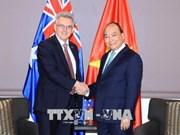 Le Premier ministre Nguyen Xuan Phuc reçoit le président de l'Association d'amitié Australie-Vietnam