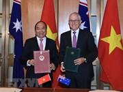Activités du Premier ministre Nguyên Xuân Phuc en Australie
