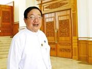 Myanmar: U T Khun Myat est élu président de la Chambre des représentants