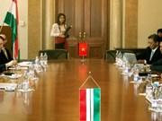 Activités de la délégation de la Cour populaire suprême du Vietnam en Hongrie