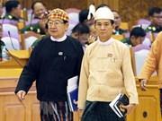 Félicitations au nouveau président du Myanmar