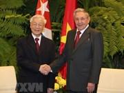 Le secrétaire général Nguyen Phu Trong en visite d'Etat à Cuba