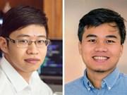 Deux jeunes vietnamiens entre au classement de Forbes