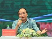Hai Duong : Dialogue entre le Premier ministre et des paysans