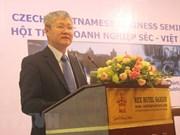 Vietnam-R. tchèque : riches potentiels de coopération dans l'investissement et le commerce