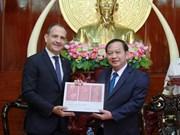 Can Tho resserre la coopération avec la France dans divers domaines