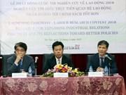 Lancement d'un concours d'étude sur les politiques de l'emploi