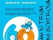 Patrimoine partagé 2018: l'exposition «Les Schtroumpfs» à Hanoï