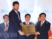 Réception du certificat de l'UNESCO pour l'art du « bai choi »