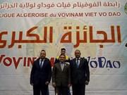 Le premier tournoi Grand Prix - Vovinam Viet Vo Dao en Algérie