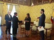 Renforcement de la coopération multiforme Vietnam-Equateur