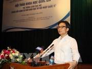 Le vice-PM Vu Duc Dam plaide pour une éducation ouverte