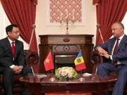 La Moldavie apprécie ses relations d'amitié traditionnelles avec le Vietnam
