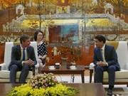Le Royaume-Uni souhaite promouvoir une coopération multiforme avec Hanoï