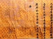 Découverte d'un décret royal de promotion datant du 18e siècle