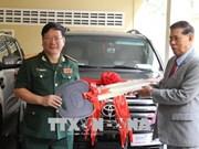 Le Vietnam offre des cadeaux au Cambodge