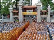 Activités à l'occasion du 2562e anniversaire de Bouddha dans plusieurs localités