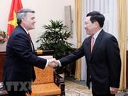 Le vice-PM Pham Binh Minh reçoit une délégation américaine