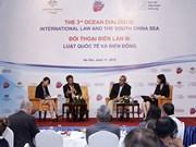 Le 3e dialogue sur l'océan porte sur le droit international et la Mer Orientale