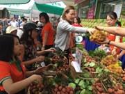 """Semaine des litchis """"Thiêu"""" de Thanh Hà-Hai Duong à Hanoï"""